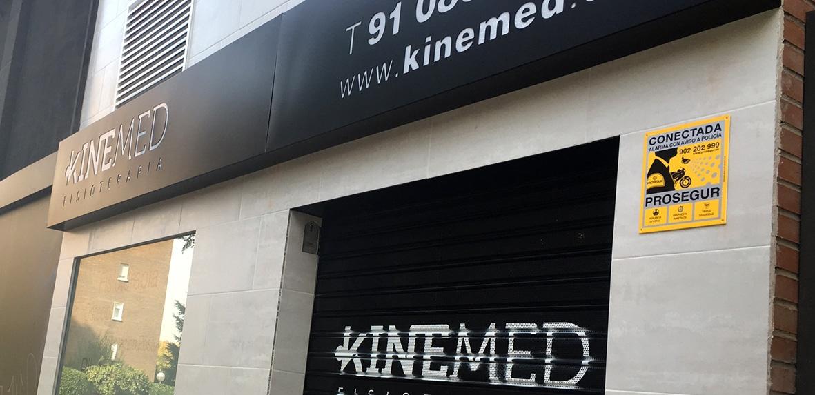 Dónde estamos: Kinemed Fisioterapia en Leganés
